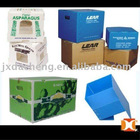 COLORED PP CORRUGATED BOARD PACKING BOX