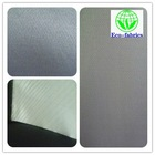 100% twill polyester pongee fabric with pu coated