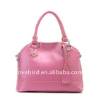 hotsale lady fashion leather hand bag and shoulder bags with PU