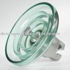 toughened glass suspension insulator
