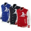 baseball fleecy jacket