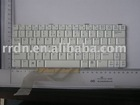 White color US Version laptop keyboard for DELL VOSTRO 1200 V1200 computer