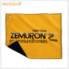 Custom Golf Towels 100% cotton golf towels with clip