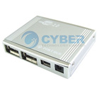 USB 4 Port mini HUB Self + Bus Powered AC Adapter