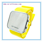 hot selling silicone led watch