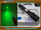 50/100/150/200mw adjustable focus Green laser flashlight portable with key switch and lighting a match SE-G-300A