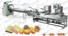 Biscuit sandwiching flow pack machine