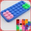 Lovely Building Blocks Silicone Cases for iPhone 5 Accessories