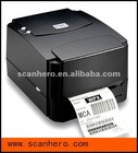 TSC TTP-244 plus barcode thermal printer for ribbon
