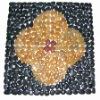 natual cobble mosaic