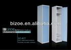 Steel Bedrooml furniture Vertical Single door locker, Wardrobe