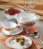 opal glass dinnerware-48pcs