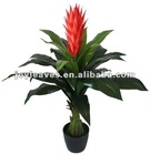 artificial flower ,artificial tree with red flower