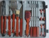 18PC STAINLESS STEEL BBQ TOOL SETS