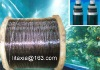 submarine cable/undersea electric cable steel core,pitch/asphalt/bitumen/chian/pitchblende coated