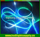 led rope light rgb 5 wire clear multi-color
