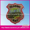 2012 NEW designed kids fabric woven patches
