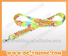 custom design promotion lanyard,heat transfer printed lanyard