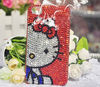 Pretty Cute Bead Hello Kitty Case For iPhone