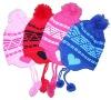 kids Earflap ear warmer hat cap