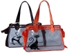 Cute cat PVC handbag