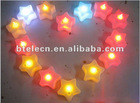 flashing led candle star light with voice control