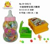 Piano & pencil knife toy with candy