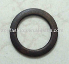 Wooden ring rounded belt buckle wood ring 5
