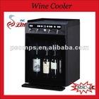 Dual-temperature Control Glass Door Bottle Wine Refrigerator