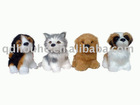 mini dog figurine toy