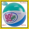 2011 hot sale 1 Euro dollar inflatable beach ball for super maket