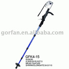 Multi-function aluminum nordic walking stick