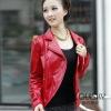 Fashion Lady's Leather Jacket