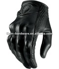 ICON PERSUIT GLOVES NEW Leather/Carbon Gloves for Motorcycling Icon gloves - black