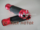 Motorcycle grip handle bars universal Alloy Handle Grips Red