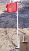 #CFD01 Deluxe Corner Flags, set of 4, Spring Loaded