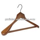 luxurious wooden hanger