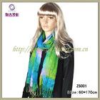2012 New style fancy yarn no knit scarf