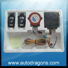 Motorcycle alarm security system kit