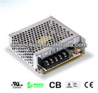 DWS-25F switching power supplies with 25W single output certified power supply