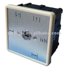 Automatic glass door wall function switch