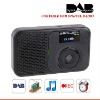 Portable DAB Digital Radio with FM Radio