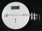 3 digital CO detector, LCD displayer carbon monoxide detector