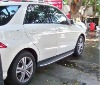 2012 newest ML350 Running boards / side step ,benz refit side skirt ,SUV car accessories