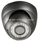 QF-802D Color CCD Day and Night Varifocal Lens Vandalproof IR Dome Security CCTV Camera