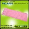 Hot-selling flexible silicon soft keyboard