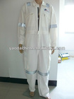 flame retardant coverall with reflective tapes