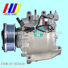 12V Automobile scroll Air conditioner compressor for DONGFENG HONDA CIVIC