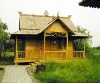 single-family bamboo house