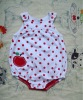 printed kids overalls with prong snap buttons